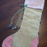 Just call me Martha Stewart: DIY Rustic Christmas Stocking