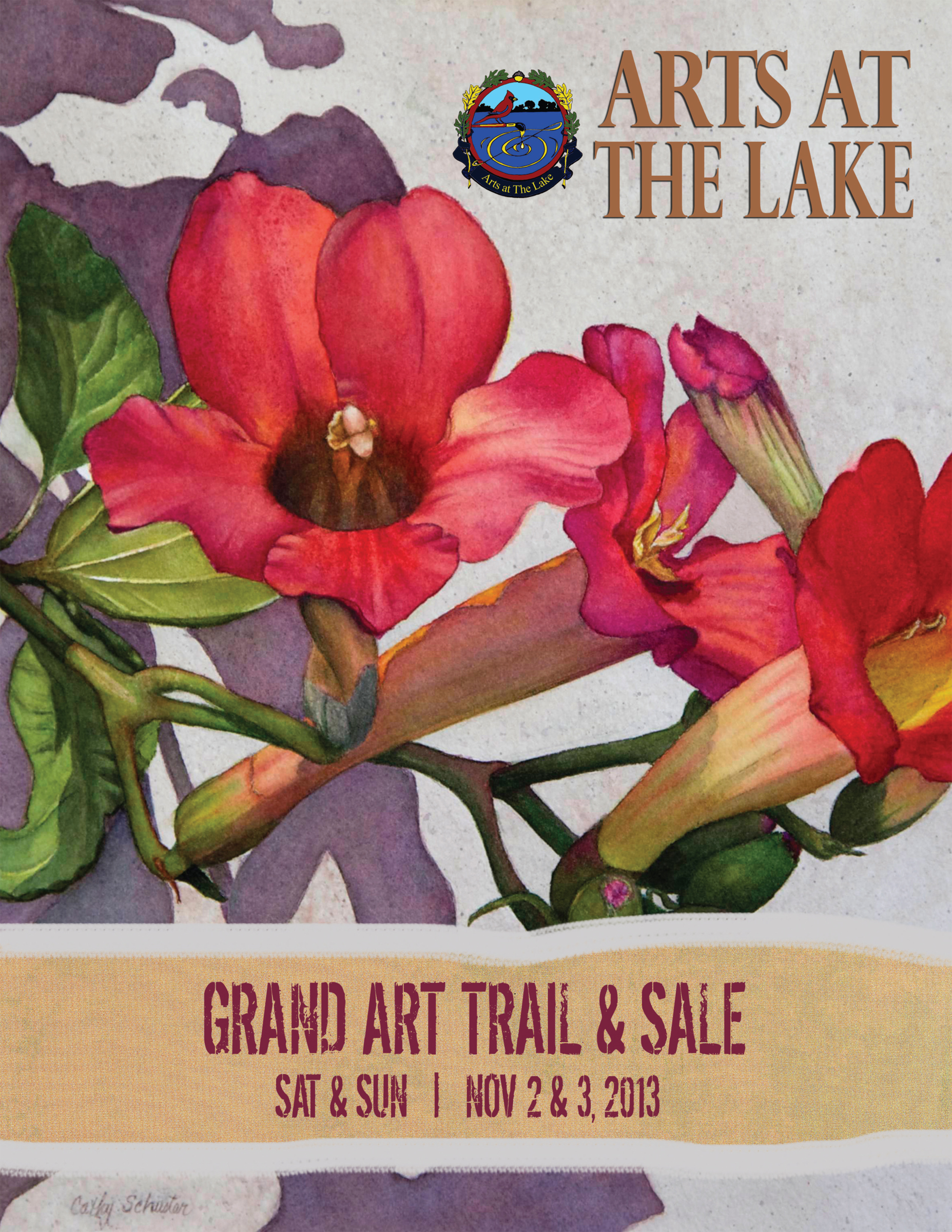 Lazy K Creative Blog | Arts at the Lake 2013 Art Trail magazine